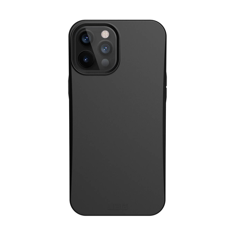 Купить Защитный эко-чехол UAG Outback Bio Series Black для iPhone 12 Pro Max