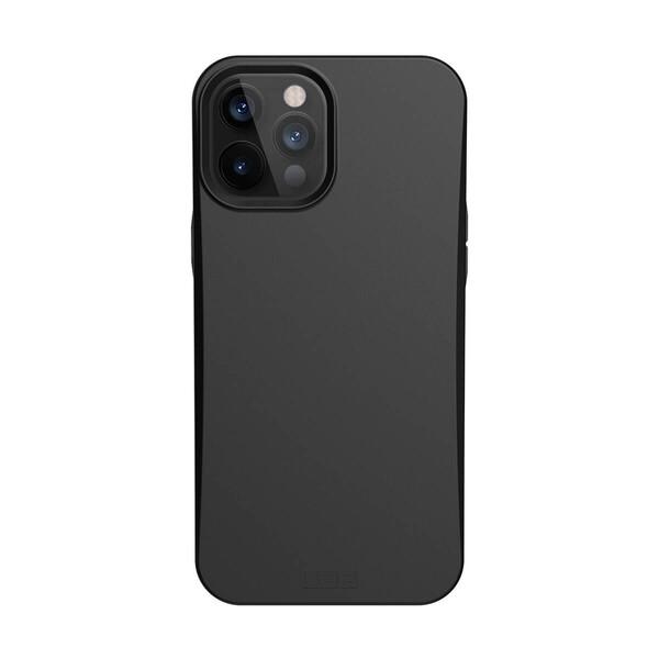 Защитный эко-чехол UAG Outback Bio Series Black для iPhone 12 | 12 Pro