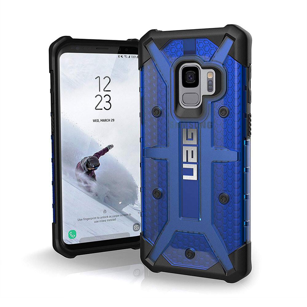 Чехол UAG Plasma Cobalt для Samsung Galaxy S9