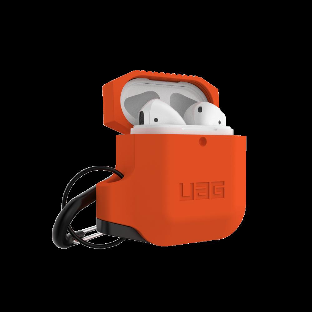 Купить Противоударный чехол UAG Silicone Case Orange для AirPods 2 | 1