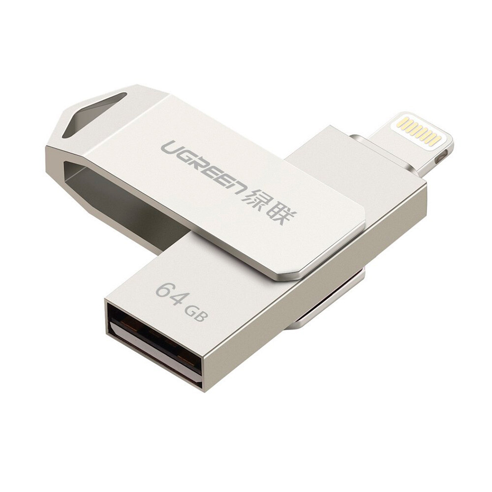 Флешка Ugreen Lightning to USB Flash Drive 64GB