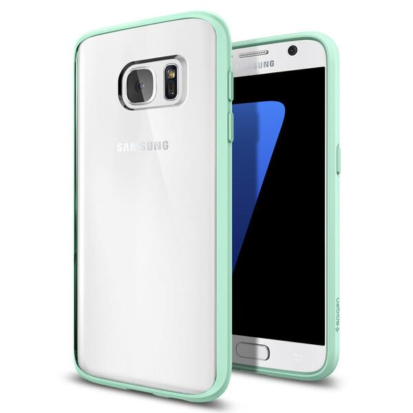 Чехол Spigen Ultra Hybrid Mint для Samsung Galaxy S7