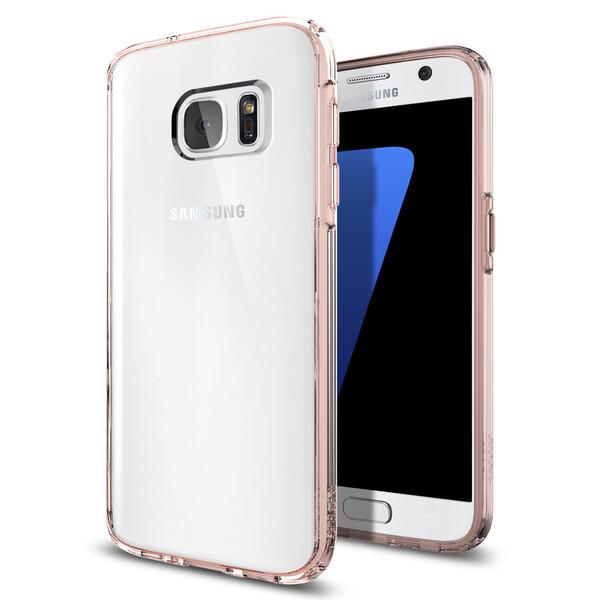 Чехол Spigen Ultra Hybrid Rose Crystal для Samsung Galaxy S7