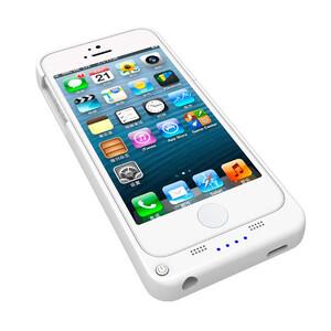 Купить Белый чехол-аккумулятор UltraSlim на 2200mAh для iPhone 5/5S/SE