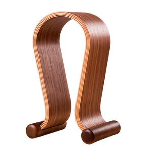 Купить Универсальная деревянная подставка SAMDI Black Walnut для наушников