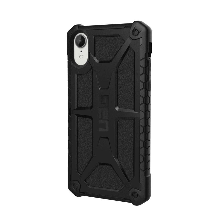 Противоударный чехол UAG Monarch Black для iPhone XR