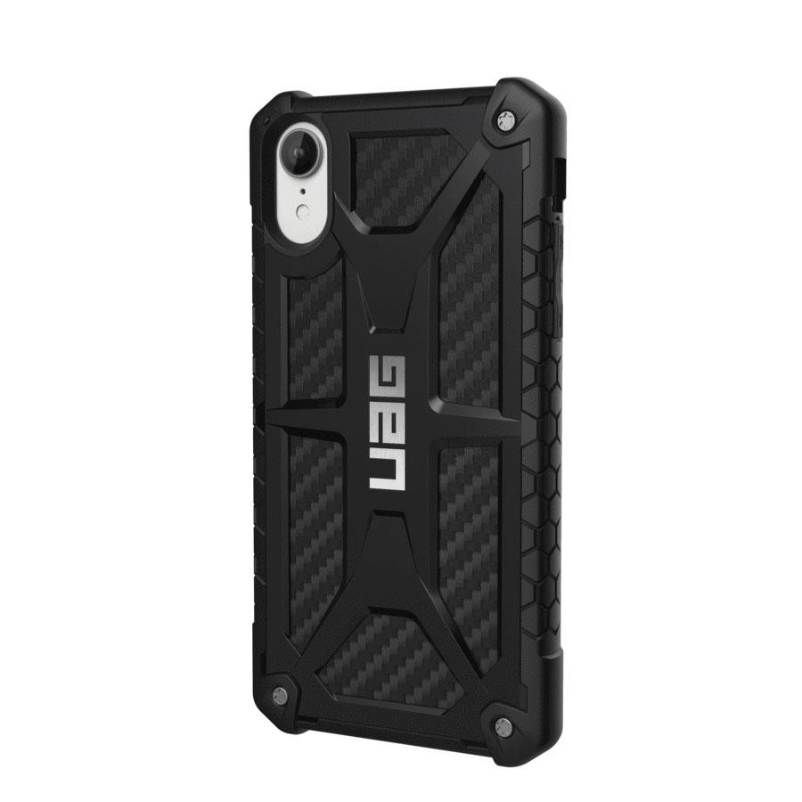 Купить Противоударный чехол UAG Monarch Carbon Fiber для iPhone XR