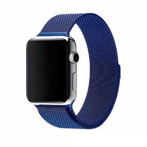 Купить Ремешок URVOI Milanese Loop Blue для Apple Watch 42mm Series 1/2/3