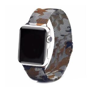 Купить Ремешок URVOI Milanese Loop Camo для Apple Watch 42mm/44mm Series 1/2/3/4