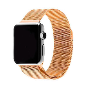 Купить Ремешок URVOI Milanese Loop Gold для Apple Watch 42mm Series 1/2/3