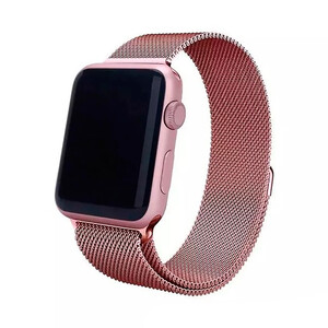 Купить Ремешок URVOI Milanese Loop Pink Gold для Apple Watch 42mm Series 1/2/3