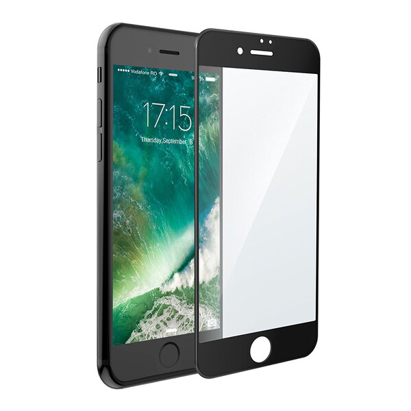 Защитное стекло USAMS 3D Curved Tempered Glass Black для iPhone 7 Plus   8 Plus