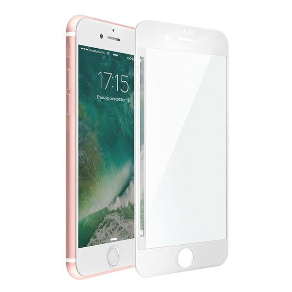 Защитное стекло USAMS 3D Curved Tempered Glass White для iPhone 7 Plus   8 Plus