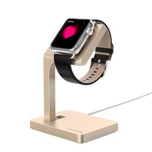Алюминиевая док-станция USAMS Champagne для Apple Watch