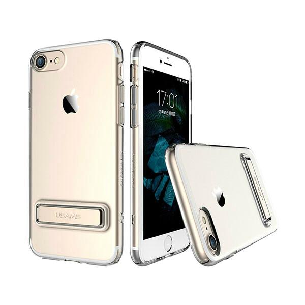 Чехол с подставкой USAMS Bright Series Gold для iPhone 7/8