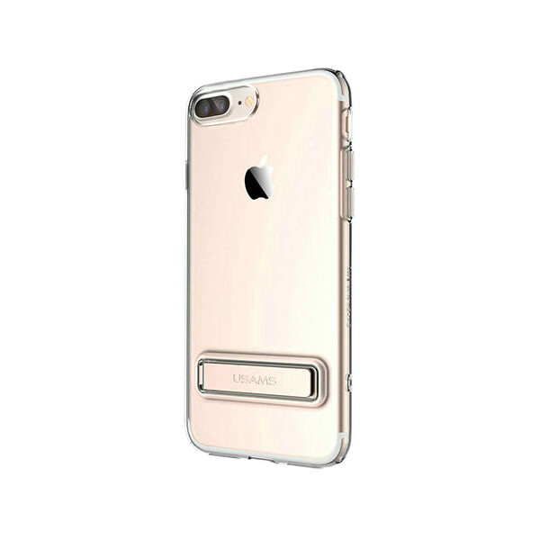 Чехол с подставкой USAMS Bright Series Rose Gold для iPhone 7 Plus
