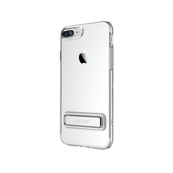 Чехол с подставкой USAMS Bright Series Silver для iPhone 7 Plus