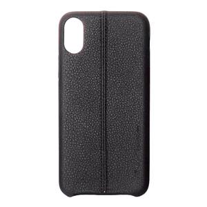 Купить Кожаный чехол USAMS Joe Series Black для iPhone X