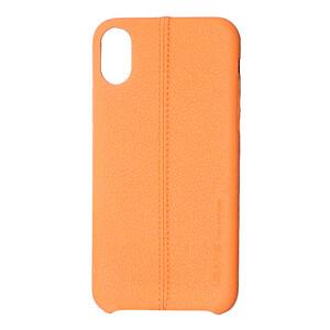 Купить Кожаный чехол USAMS Joe Series Brown для iPhone X