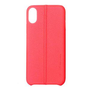 Купить Кожаный чехол USAMS Joe Series Red для iPhone X