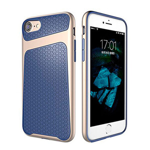 Купить Защитный чехол USAMS Knight Series Dark Blue для iPhone 7 Plus/8 Plus
