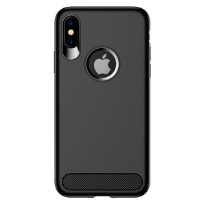 Купить TPU Чехол USAMS Muze Series Black для iPhone X/XS