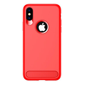 Купить TPU Чехол USAMS Muze Series Red для iPhone X/XS