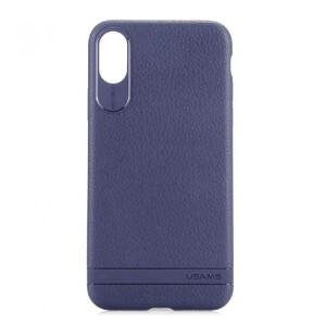 Купить Чехол-накладка USAMS Sinja Series Blue для iPhone X