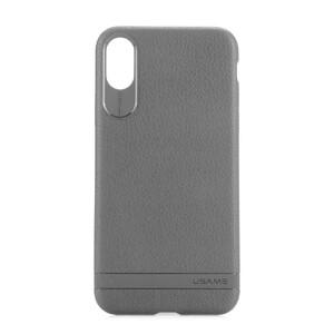 Купить Чехол-накладка USAMS Sinja Series Gray для iPhone X
