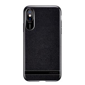 Купить Чехол-накладка USAMS Sinja Series Black для iPhone X