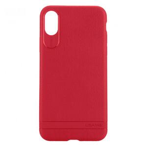 Купить Чехол-накладка USAMS Sinja Series Red для iPhone X