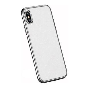 Купить Чехол-накладка USAMS Starry Series White для iPhone X