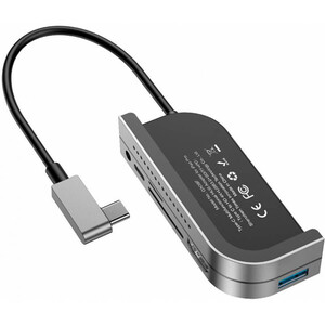 Купить Хаб USB-C для iPad Pro Baseus Bend Angle Hub No.7 Multifunctional