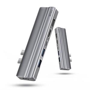 Купить Хаб USB-C для MacBook Pro/Air Wiwu T9 8 в 2