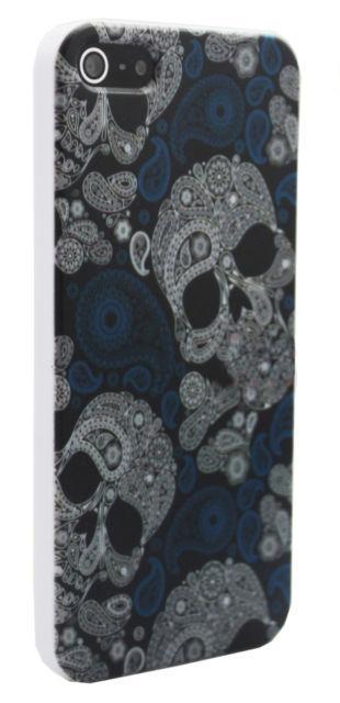 Чехол с черепами Skull для iPhone 5/5S/SE