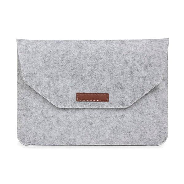 "Чехол из войлока iLoungeMax Voground Light Grey для MacBook 12"" | Air 11"""