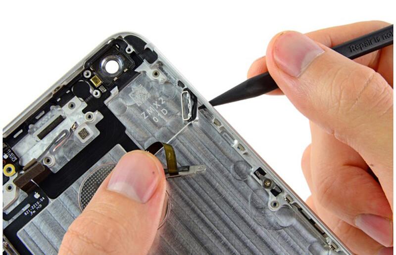 Ремонт кнопки беззвучного режима iPhone XR