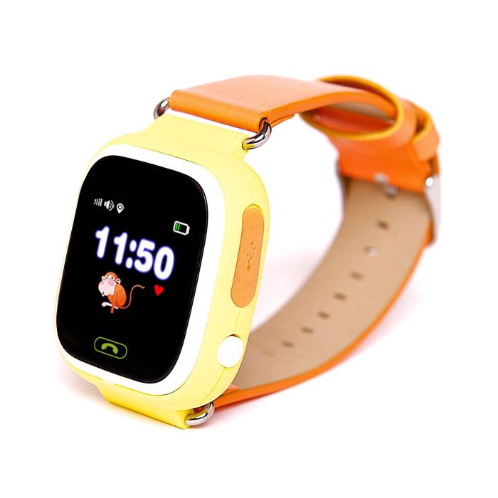 Купить Детские часы-телефон oneLounge с GPS трекером Q90 Orange