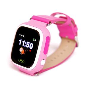 Купить Детские часы-телефон с GPS трекером Q90 Pink