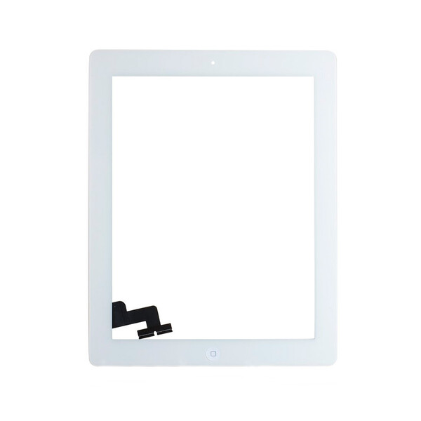 Белый Тачскрин (сенсорный экран) для iPad 2