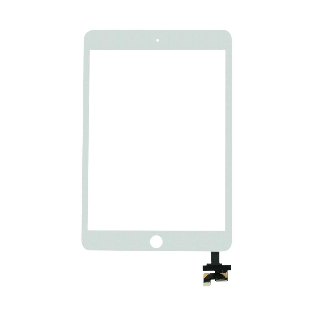 Купить Белый тачскрин (сенсорный экран, оригинал) для iPad mini 3