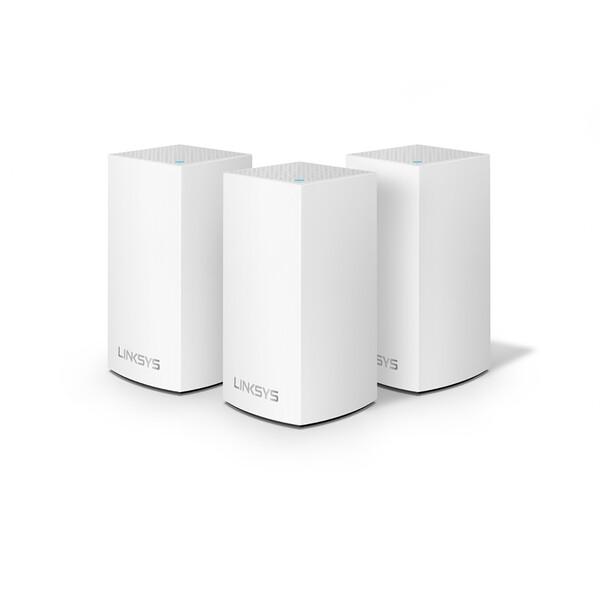 Двухдиапазонный Wi-Fi роутер Linksys Velop Whole Home Intelligent Mesh WiFi System (3 шт.)