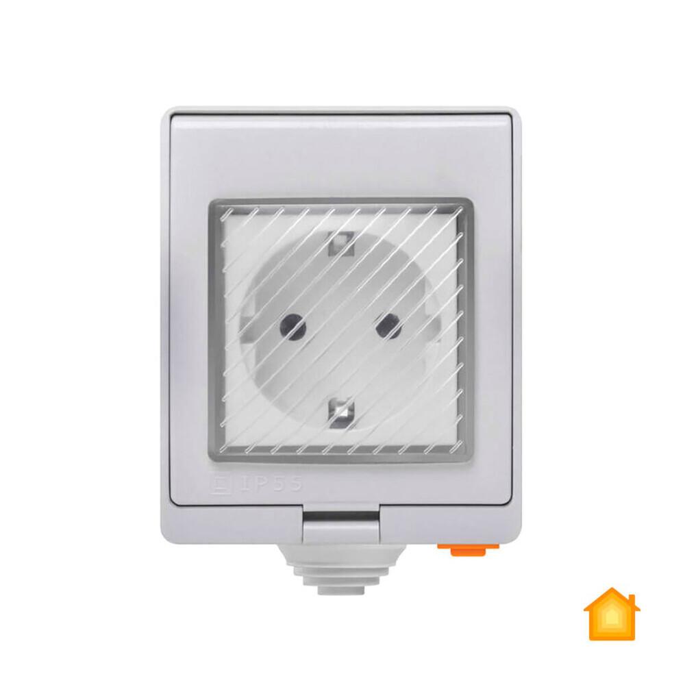 Купить Водонепроницаемая умная Wi-Fi розетка Sonoff S55TPF (DE) HomeKit