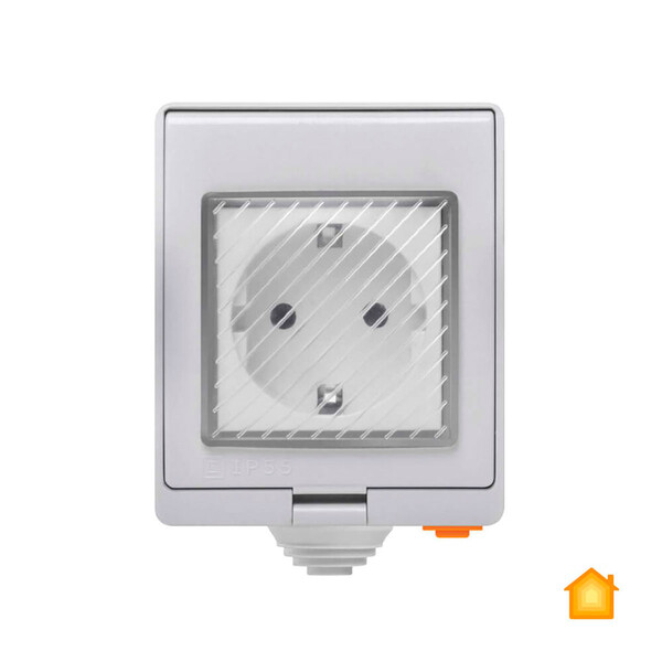 Водонепроницаемая умная Wi-Fi розетка Sonoff S55TPF (DE) HomeKit