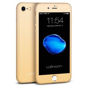 Купить Чехол с защитным стеклом Willnorn Norn One 360 Gold для iPhone 7/8