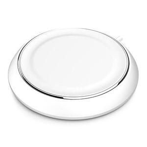 Купить Беспроводное зарядное устройство ROCK White для iPhone/Samsung/Sony/HTC/LG