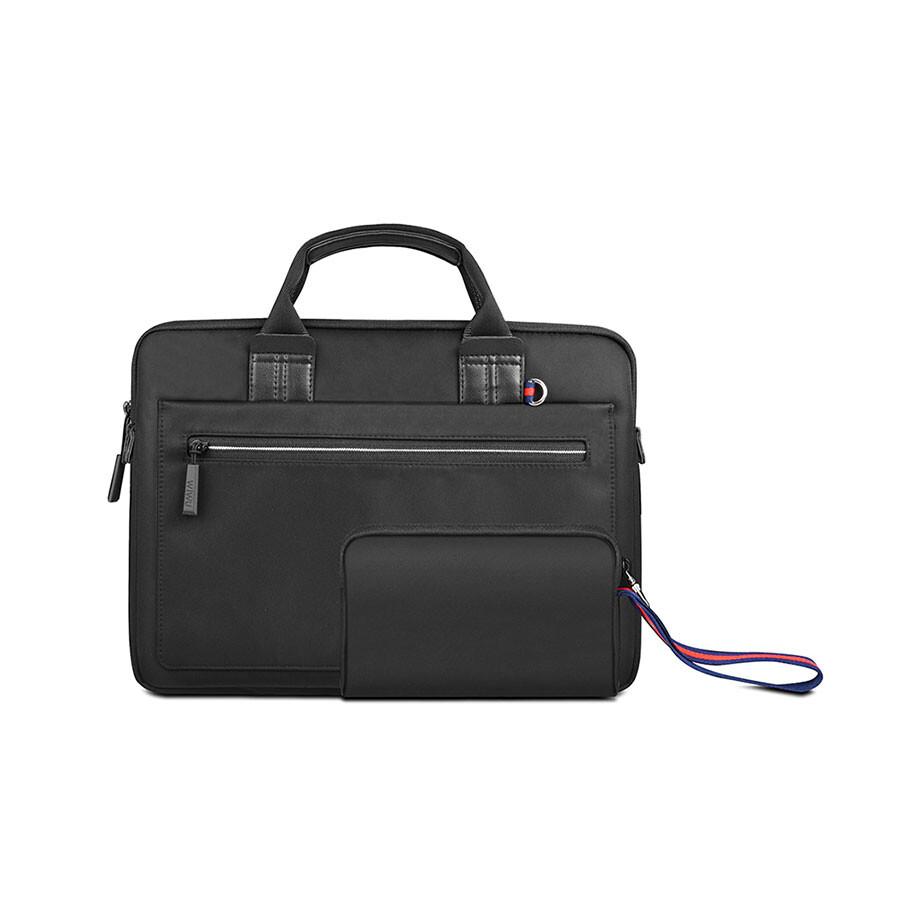 "Чехол-сумка WIWU Athena Black для MacBook 13"""