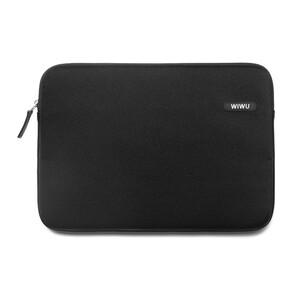 """Купить Влагозащитный чехол-сумка WIWU Classic Sleeve Black для Macbook Pro 15"""""""