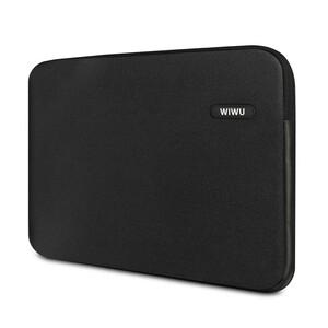 """Купить Влагозащитный чехол-сумка WIWU Classic Sleeve Black для Macbook Pro 13"""""""