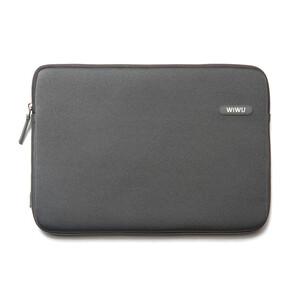 """Купить Влагозащитный чехол-сумка WIWU Classic Sleeve Grey для Macbook Pro 15"""""""